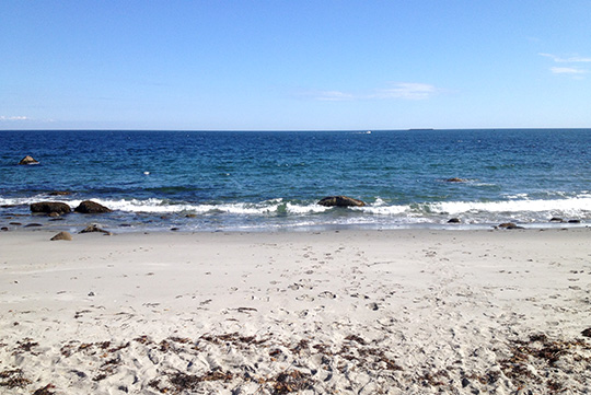 Walk to Rockport MA Beach