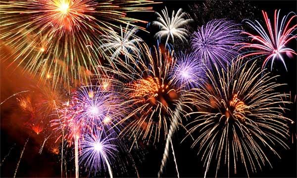 Rockport Fireworks at Back Beach