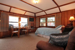 Gull Point Living Area At Our Rental In Rockport MA
