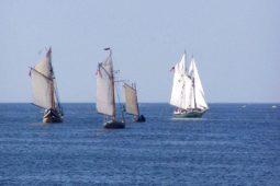Sailing Ships On Rockport Harbor
