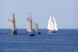 Sailing Ships On Rockport Harbor
